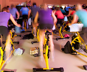 Challenging Indoor Cycling Training Classes | CalFit Sacramento, CA