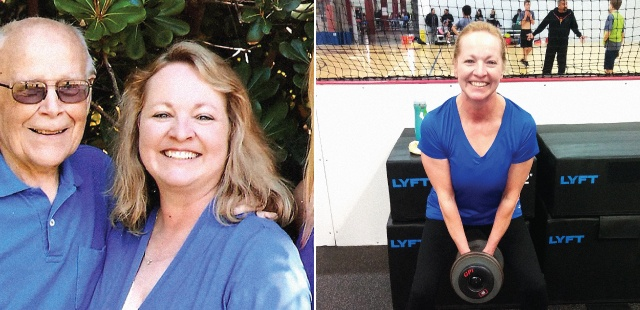 rocklin woman who lost weight with personal training