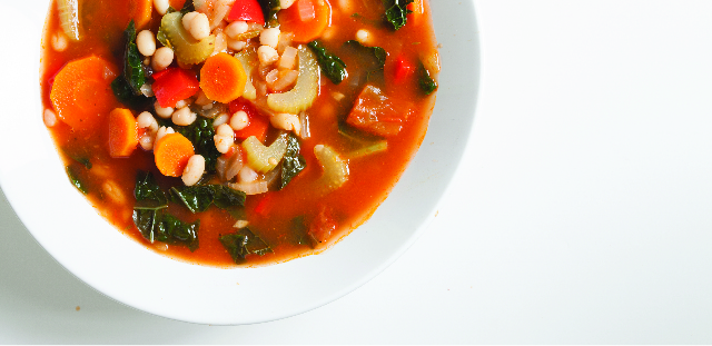 March Recipe: Hearty-White-Bean-and-Kale-Soup