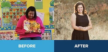 Carmichael CFF Success Story: Veronica