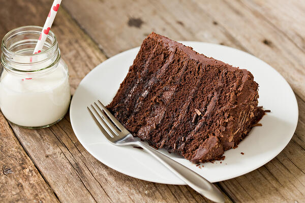 ChocoCakewithStraw