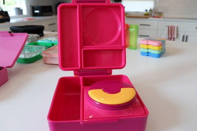 Pink Box with Thermos