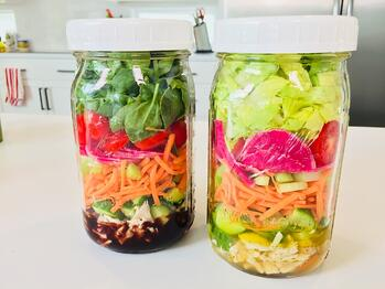 #NutritionFits: Mason Jar Salads