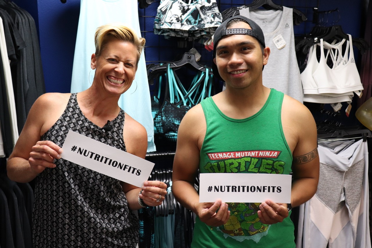 #NutritionFits Visits the Gym