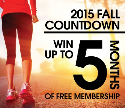 Enter to Win our Fall Fitness Countdown Giveaway