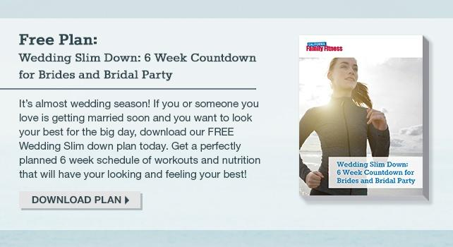 Wedding Slim Down Free Plan