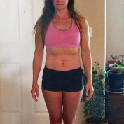 sacramento gym member shows results of personal training