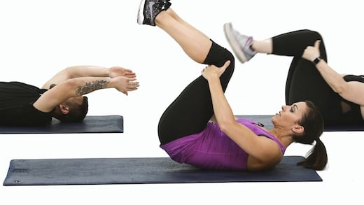 Ab exercises core training