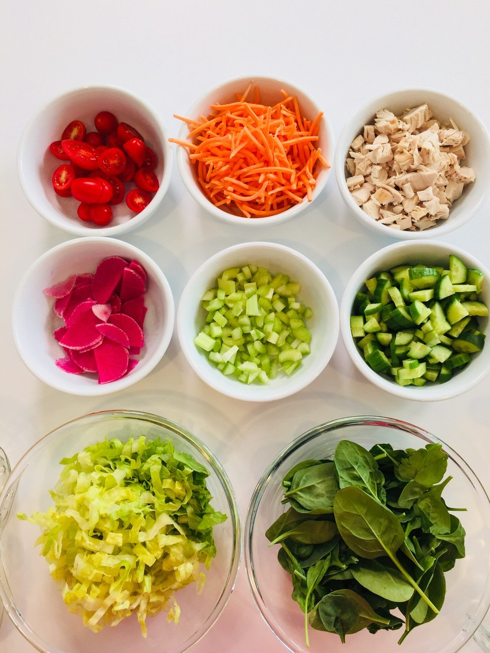 SaladIngredientBowls