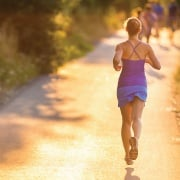 woman running with energy from california family fitness tips